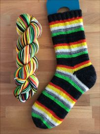'.All Hallow's Eve' Vesper Sock Yarn DYED TO ORDER