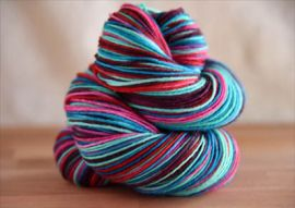 .'Comfort and Joy' 10% OFF NEW COLORWAY Vesper Sock Yarn DYED TO ORDER