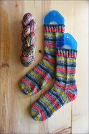 ..'Holiday Magic' Vesper Sock Yarn DYED TO ORDER