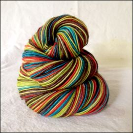"""Hudson River Valley"" Vesper Sock Yarn DYED TO ORDER"