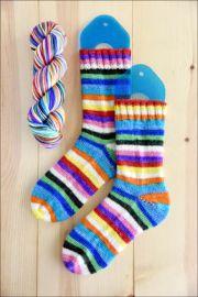 .'KodaChrome' Vesper Sock Yarn DYED TO ORDER