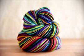'TomorrowLand' Vesper Sock Yarn DYED TO ORDER