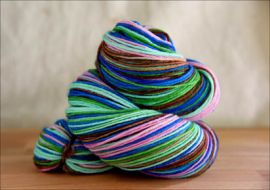 'Walk in the WInter Woods' Vesper Sock Yarn DYED TO ORDER