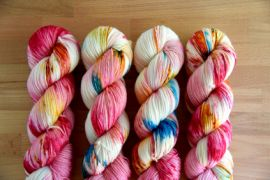 'Sparkler' Bespeckeled Vesper Sock Yarn