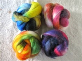 4oz BFL Color MashUps!