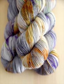 'That Autumn Feeling' Bespeckled Vesper Sock Yarn