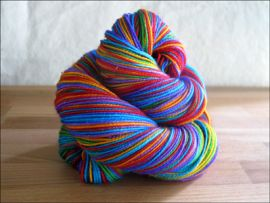 'Rainbow Love' Vesper Sock Yarn DYED TO ORDER