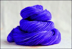 """Violet"" Semi-Solid Vesper Sock Yarn DYED TO ORDER"
