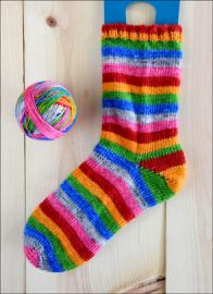 .'Rainbows After Rain' Vesper Sock Yarn DYED TO ORDER