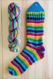.'Bewitched, Bothered, and Bewildered' Vesper Sock Yarn DYED TO ORDER