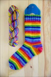 .'Prisma' Vesper Sock Yarn DYED TO ORDER