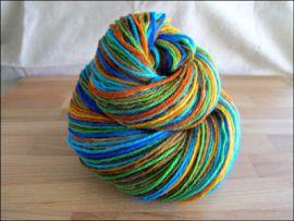 """""""Kaleidoscope"""" Vesper Sock Yarn DYED TO ORDER"""