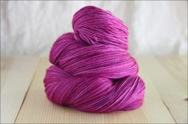 'Deep Orchid' JUNE 2019 Semi-Solid Vesper Sock Yarn DYED TO ORDER