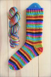 """""""Butterfly in the Sky"""" Vesper Sock Yarn DYED TO ORDER"""