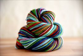 'Niagra on the Lake' Vesper Sock Yarn DYED TO ORDER