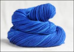 'Deep Blue'  Vesper Sock Yarn DYED TO ORDER