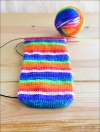 'Live in Technicolor' Vesper Sock Yarn DYED TO ORDER