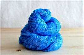 .'Big Sky Blue' March 2020 Semi-Solid Vesper Sock Yarn DYED TO ORDER