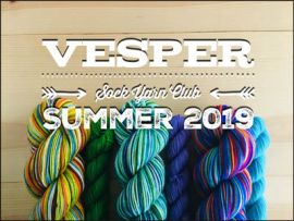 Vesper Sock Yarn Club July-August-September 2019